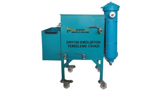DRY750 Emülsiyon Temizleme cihazı