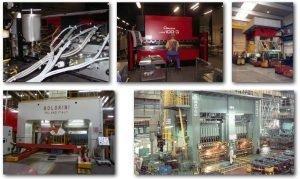 BypassOil Mikro Filtreleme yağ temizleyicileri ile donatılmış çeşitli CNC metal işleme makineleri.