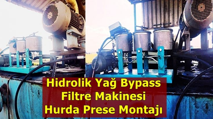 Hurda Pres Makinesi Yağ Filtresi